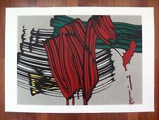 Roy Lichtenstein Brushstrokes Painting No 6 classic Pop Art Siebdruck silkscreen