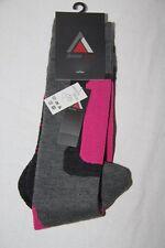 LHOTSE  Chaussettes Ski - Mod TOCCATA - Gris Noir Rose  - 35/38  neuf