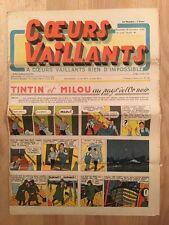 HERGE - TINTIN - COEURS VAILLANTS numéro 41 du 13 octobre 1940