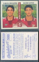 FIGURINA CALCIATORI PANINI 1995/96-SALERNITANA,GRASSADONIA/GATTUSO-N.500-NUOVA