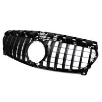 For Mercedes Benz CLA Class W117 2017-2018 GT-R Black Gloss Front Grille