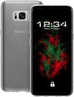 COVER per Samsung Galaxy S8 Plus - Custodia Rigida protettiva - TRASPARENTE