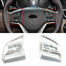 For Hyundai Tucson 2016 - 2019 Matte Steering Wheel Button Frame Cover Trim 2pcs