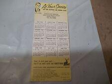 1959 Advertising Ink Blotter Otho Schmidt Insurance Salina Kansas