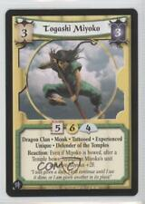 2008 Legend of the Five Rings CCG - The Heaven's Will 36 Togashi Miyoko Card 1i3