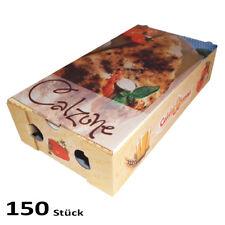 CALZONE 150 Karton 31x17x70mm Pizzakarton Pizzakarton Pizzabox für Pizza Kraft