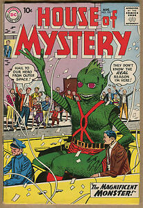House Of Mystery #101 - Magnificant Monster Superman PSA - 1960 (Grade 7.5) WH