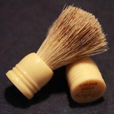 Mini Blaireau Rasage Voyage CENTURY USA Vintage NOS Travel Badger Shaving Brush