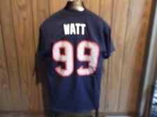 JJ Watt shirt jersey medium Houston Texans blue NFL short sleeve