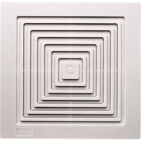 New Bathroom Exhaust Fan Replacement Grille Ceiling Air Ventilation White Finish