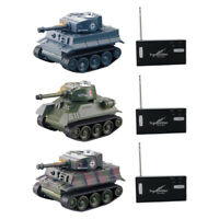 Mini RC Tank Car Radio Remote Control Tank Toy For Kids Gifts RC Models