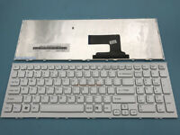 New For Sony Vaio PCG-71811L PCG-71811M PCG-71811W English Keyboard White