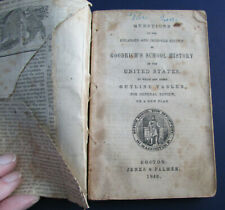 Goodrich's School History of the United States, Review Book, 1846