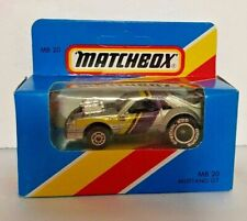 VINTAGE  MATCHBOX CAR  MUSTANG GT  1983 ISSUE