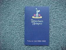 Tottenham Hotspur Football Fixture Cards & Lists