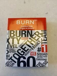 Burn 60 Resistance Bands