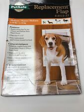 PetSafe Replacement Door Flap for Classic & Wall Entry Doors Medium 4-0111-11
