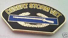 COMBAT INFANTRY CIB DESERT STORM VET Military Veteran US ARMY Hat Pin P12247 EE