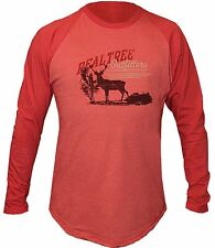 Realtree Outfitters CASUAL RETRO 2-Tone DEER LS T-Shirt Hunting