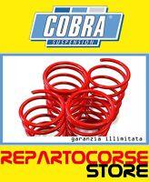 KIT 4 MOLLE ASSETTO RIBASSATE COBRA - 20mm ALFA ROMEO 156 932 GTA 3.2 V6 - TÜV