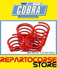 KIT 4 MOLLE ASSETTO RIBASSATE COBRA -25mm FIAT 500L 1.6 Multijet 105cv dal 2012