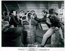 Glenn Ford & Rod Taylor Fate is the Hunter Unsigned Glossy 8x10 Movie Photo