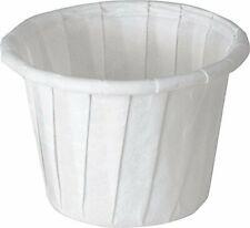 Souffle Cup Solo .75 oz. White Paper, Sl/250 #075-2050 ''''