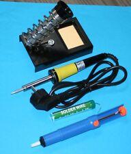 Solder Set - Soldering Iron / 230 V 30 W, Tray, Tin, Entloetsaugpumpe, Tip