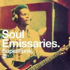 SOUL EMISSARIES SUPER FUNK Various Artists NEW & SEALED FUNK / SOUL CD (BGP)
