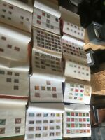 German stamps 100 leaves medium to full populated bdr german stamps unmounted