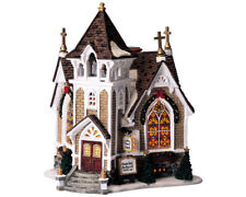 Lemax Christmas Village Harvest Crossing Collection Little River Church #45069