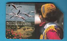 SCHEDA ITALIA Usata 2000 PRIVATE RESE PUBBLICHE SARDEGNA GOLDEN  n. 332