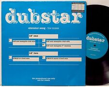 "DUBSTAR Elevator Song - The Mixes 2-12"" 1996 Food UK promo EX+"