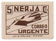 Sello Local Guerra Civil Nerja -Cat. Galvez 515.  ORD:1567