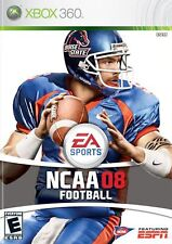 XBOX 360 NCAA Football 08 Video Game College Gridiron Multiplayer 1080p HD 2008