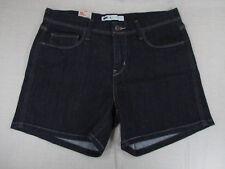 LEVI'S Women's 5 Pocket Denim Jean Shorts Style 517210001 Dark Wash 8/29 NEW