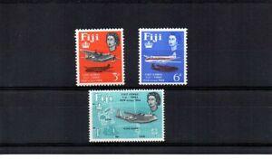 Fiji 1964 - 25th Anniv of 1st Fiji-Tonga Airmail - Set of 3 MNH SG338/40