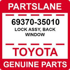69370-35010 Toyota OEM Genuine LOCK ASSY, BACK WINDOW