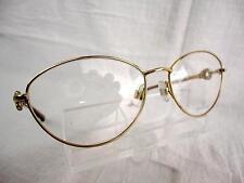 Swarovski Betty Lou  SW 5054 (028) Gold/Beige 54 x 16 135 mm Eyeglass Frames