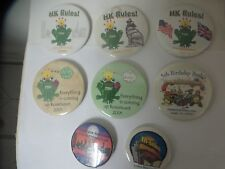 Harmony Kingdom Ice, Birthday Bash Collector Club 8 Buttons