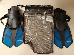 Seavenger Torpedo Snorkeling Fins for Travel (Size S/M) - Pre Owned