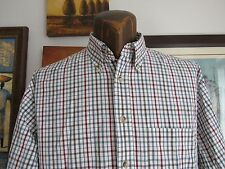 PENDLETON | Mens Shirt | Button Up | Checks | Stripes | 100% Cotton | Medium