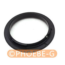 62mm Macro Reverse Adapter Ring for CANON EOS EF Mount