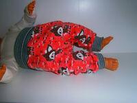 Handmade♥angerauht Winter♥Hafenkitz♥Pumphose♥Kuschelhose♥Hose♥Gr.50-104