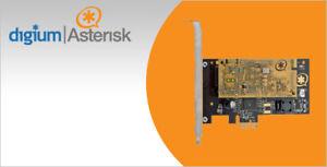 Digium TCE400B PCI-Express (1TCE400BLF)