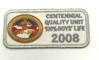 Boy Scouts BSA Quality Unit 2005 100/% Boys/' Life Award Patch NEW!