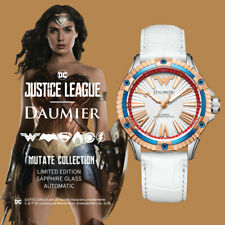 Luxury Automatic Analog Justice League Wonder Woman Watch for Woman