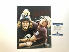 Shaun White & Bucky Lasek Rare! signed X Games skate 8x10 photo Beckett BAS coa