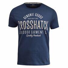 Camiseta Hombre Crosshatch Seton Camiseta Gráfica Top