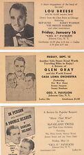 Lou Breese Band~Glen Gray Casa Loma Orchestra~McFarland Twins-(3) ~ c. - 1940